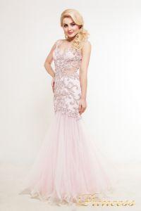 Вечернее платье 1373. Цвет розовый. Вид 1