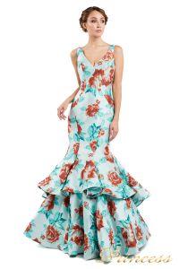 Вечернее платье 13895 . Цвет мятный. Вид 2