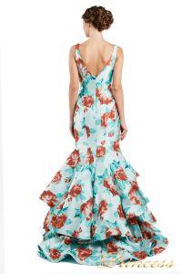 Вечернее платье 13895 . Цвет мятный. Вид 3