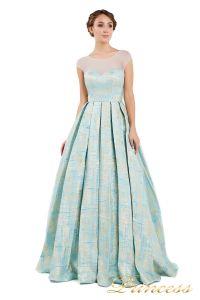 Вечернее платье 13897. Цвет мятный. Вид 1