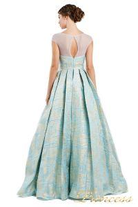 Вечернее платье 13897. Цвет мятный. Вид 2