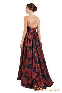 Вечернее платье 13898. Цвет чёрный. Вид 2