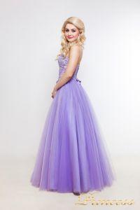Вечернее платье 1391. Цвет фиолетовый. Вид 2