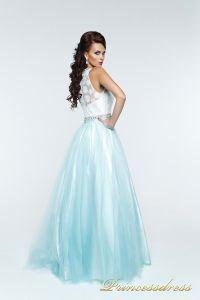 Вечернее платье 140344T. Цвет мятный. Вид 2