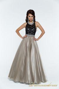 Вечернее платье 140344P. Цвет чёрный. Вид 2