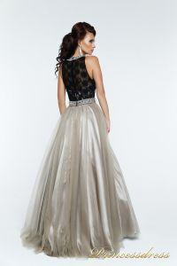 Вечернее платье 140344P. Цвет чёрный. Вид 3