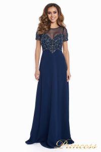 Вечернее платье 140715. Цвет синий. Вид 4