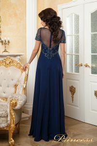Вечернее платье 140715. Цвет синий. Вид 2
