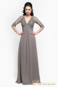 Вечернее платье 140949. Цвет стальной. Вид 1