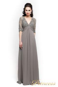 Вечернее платье 140949. Цвет стальной. Вид 3