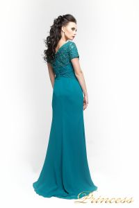 Вечернее платье 140951. Цвет зеленый. Вид 2