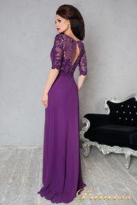 Вечернее платье 140956. Цвет фиолетовый. Вид 2