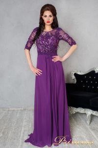 Вечернее платье 140956. Цвет фиолетовый. Вид 1