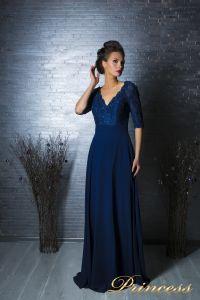 Вечернее платье 140957. Цвет синий. Вид 5