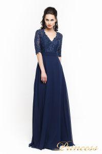 Вечернее платье 140957. Цвет синий. Вид 2