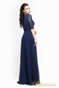Вечернее платье 140957. Цвет синий. Вид 3
