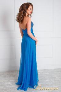Вечернее платье 143. Цвет голубой. Вид 3