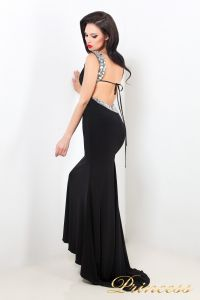 Вечернее платье 1453 B. Цвет чёрный. Вид 2