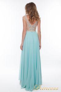 Вечернее платье 150009_blue. Цвет голубой. Вид 3