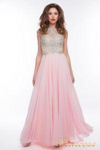Вечернее платье 150009_pink. Цвет розовый. Вид 2