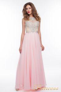 Вечернее платье 150009_pink. Цвет розовый. Вид 3