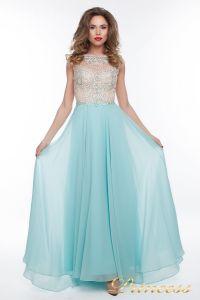 Вечернее платье 150009_blue. Цвет голубой. Вид 4
