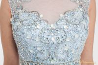 Вечернее платье 150190 blue. Цвет голубой. Вид 3