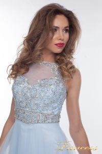 Вечернее платье 150190_blue. Цвет голубой. Вид 2