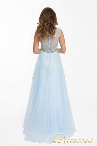Вечернее платье 150190 blue. Цвет голубой. Вид 2