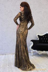 Вечернее платье 150531. Цвет чёрный. Вид 2