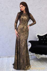Вечернее платье 150531. Цвет чёрный. Вид 1