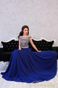Вечернее платье 151232. Цвет синий. Вид 1