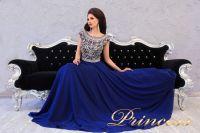 Вечернее платье 151232. Цвет синий. Вид 4