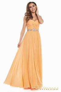 Вечернее платье 159764P. Цвет персиковый. Вид 2