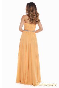 Вечернее платье 159764P. Цвет персиковый. Вид 3