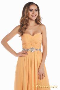 Вечернее платье 159764P. Цвет персиковый. Вид 5