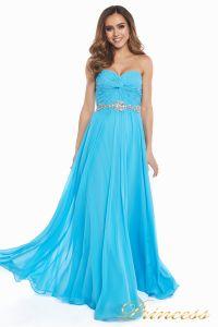Вечернее платье 159764 agua blue. Цвет голубой. Вид 3
