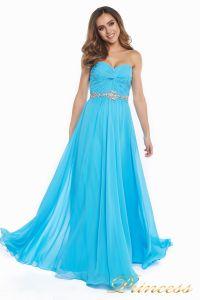 Вечернее платье 159764 agua blue. Цвет голубой. Вид 2