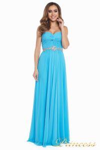 Вечернее платье 159764 agua blue. Цвет голубой. Вид 4