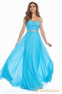 Вечернее платье 159764 agua blue. Цвет голубой. Вид 1