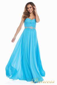 Вечернее платье 159764 agua blue. Цвет голубой. Вид 5