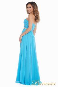 Вечернее платье 159764 agua blue. Цвет голубой. Вид 6