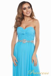 Вечернее платье 159764 agua blue. Цвет голубой. Вид 7