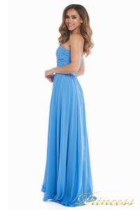 Вечернее платье 159764 blue. Цвет синий. Вид 4