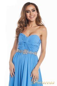Вечернее платье 159764 blue. Цвет синий. Вид 6