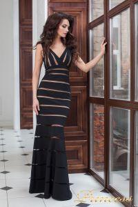 Вечернее платье 16003 black. Цвет чёрный. Вид 2