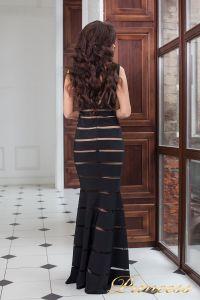 Вечернее платье 16003 black. Цвет чёрный. Вид 3