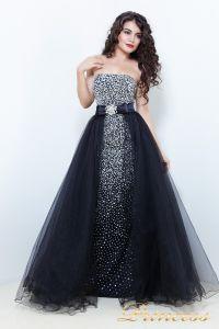 Вечернее платье 1617B. Цвет чёрный. Вид 2