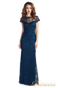Вечернее платье 1628 dark-navy. Цвет синий. Вид 2