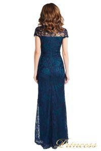 Вечернее платье 1628 dark-navy. Цвет синий. Вид 4